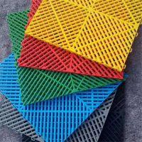 专业生产洗车房高分子塑料 拼接格栅地面漏水垫品牌华庆