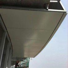德普龙檐口雨棚门头铝板_氟碳金属门头铝板厂家报价