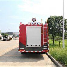 重汽豪沃8吨 单桥泡沫消防车