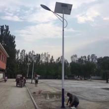 新农村建设6米高太阳能路灯厂家 A字臂太阳能路灯价格 厂区道路照明路灯