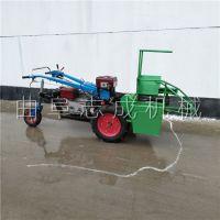 丘陵山地玉米秸秆收割机 电启动柴油苞米收割机 手扶带玉米秸秆还田收割机