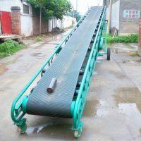 食品厂装车卸车输送机 箱装奶粉输送机 加工定做移动式皮带机