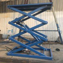 衡阳升降机厂家 厂房安装液压升降货梯多少钱 室外固定式液压升降台
