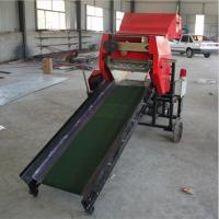 秸秆粉碎打捆包膜机 供应全自动青储机 牛羊草料压缩包膜机