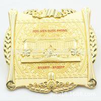 厂家制作锌合金标牌古铜色标牌环保优质铭牌