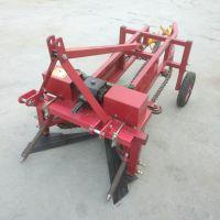 亚博国际真实吗机械 大型花生收获机 全自动花生收获机 平地使用花生收获机 拖拉机牵引花生收获机