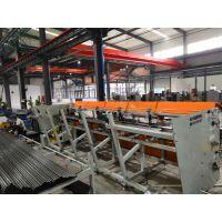 佛山华灿425重型全自动上料切管去毛刺生产线钢管切割机厂家