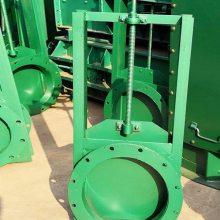 手动插板阀 方形圆形插板阀除尘器专用手动闸板阀