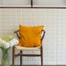 自粘墙纸卧室温馨3d立体墙贴防水防潮加厚泡沫砖纹壁纸背景墙贴纸