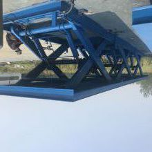 宝坻区航天直销固定剪叉式升降机 剪刀升降平台 液压装卸平台 质保一年