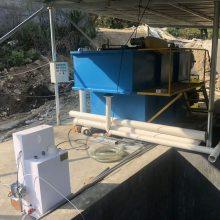 养猪场污水处理设备,过滤净化装置、气浮装置、自动加药装置、絮凝沉淀装置、消毒装置-竹源