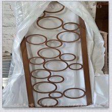 玫瑰金电镀不锈钢激光雕刻屏风价格 厦门玫瑰金不锈钢屏风加工厂