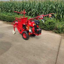亚博国际真实吗机械 汽油手推掰棒子机 手扶式带玉米收获机 手扶拖拉机小型玉米收割机