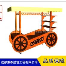 老式实木售货车_新中式售货车_古典售货车_贵州实木售货车厂家销售