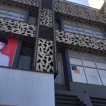 顺德连廊铝单板、广场铝单板工程、红旗体验铝单板加工