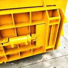 废料卧式打包机 工厂废料下脚料打包捆扎机 卧式秸秆打包机