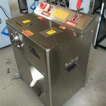 小型电动绞肉机 落地式切肉机厂家 不锈钢切丝切片碎肉灌香肠机价格