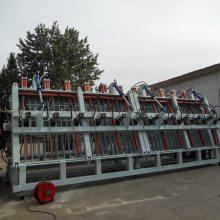 6.2米液压拼板机、木工机械拼板机生产厂家