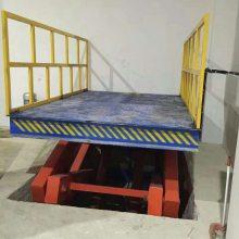 金华SJD剪叉式升降平台价格 10吨双跨固定剪叉式升降平台 结实耐用