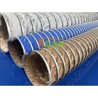 阻燃帆布钢丝通风管 耐高温排气软管 鼓风暖炉排气管 深圳诺思WH00401