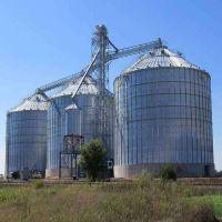 1500t水稻大豆玉米钢板仓 稻谷钢板仓 饲料原料钢板仓