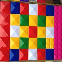 三维板立体背景墙门头广告3d扣板户外幕墙招牌装饰浮雕电视背景