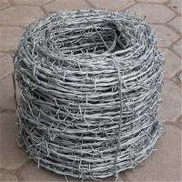 防盗刺丝 刺丝围栏价格 双股刺绳