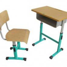 青海固定课桌椅报价-西宁学生课桌椅