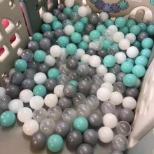 儿童乐园海洋球8cm加厚马卡龙多彩波波球