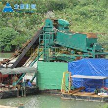出口大型抽沙淘金船去非洲的公司