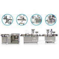 全自动单面和双侧面贴标LSBT-120立式双面贴标机