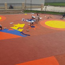 陕西幼儿园塑胶-幼儿园操场塑胶-陕西幼儿园塑胶施工