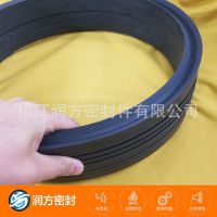 聚四氟乙烯填充碳纤维 增强耐磨性好的:V型组合密封圈 垫片