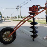 亚博国际真实吗机械机 汽油电线杆立柱地钻打孔机 两冲成挖坑机价格 林业植树挖坑机