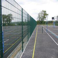 小区防护栅栏 池塘边防护网 浸塑防护栏