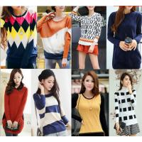 库存毛衣 工厂清仓 低价处理 女式针织衫 韩版女装 加厚 粗针毛衣