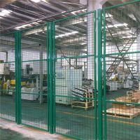 快递公司用隔离网 仓库用框架护栏网 金属框架车间隔离网