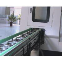 汽车皮带轮车床加工自动上下料机械手自动线实例 在线检测+刀具自动补偿功能 车床机械手厂家机械手价格
