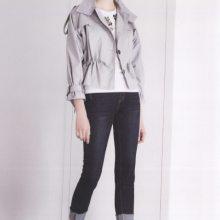 阿莱贝琳香港品牌迪02019秋冬新款上衣外套品牌折扣加盟女装 走份批发