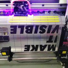 异形玻璃贴定制可移超透UV彩白彩布吉喷绘厂家直销