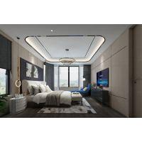 渝北悦江国际230平米装修效果图|天古装饰大平层设计方案
