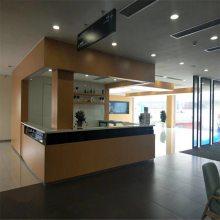 雷克萨斯4S店木纹色金属吊顶-转印木纹铝板定制厂家