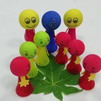 厂家直销EVA玩具弹跳小人弹跳球