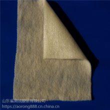 供应羊毛针刺棉 服装用羊毛无纺棉 单面膜羊毛针刺棉