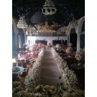 专业婚庆布景 一站式酒店婚礼堂布景 舞台背景场地布置价格优惠牛津布