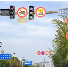 沈阳交通信号灯八角杆件生产厂家 横臂杆件距地面净高度不小于5.5m 江苏斯美尔光电科技有限公司