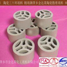 优质陶瓷三Y环填料 精填牌三Y环化工陶瓷填料
