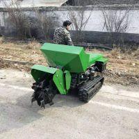 科圣 农田低矮型柴油履带开沟机 山地松土施肥机 35马力履带开沟机