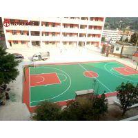 海南学校塑胶篮球场厂家 海口小区弹性塑胶网球场施工价格
