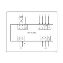 供应爱博精电DTSU1900a三相四线电子式电能表,满足大多数场合应用
